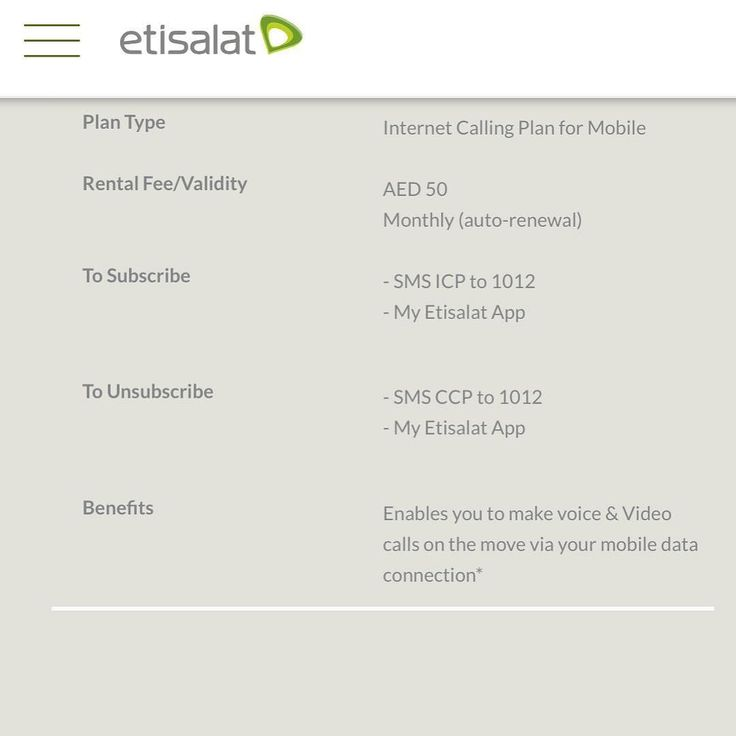 Shouldnt this be free  why they are charging us on just opening the ports for these apps  this is still using the same data of your existing plan  you just pay so Etisalat let the app connect freely so in both case they are charging us more  its so annoying and they calling internet calling Plan  oh wait this is just for mobile  if you want for your elife then pay 100 more every month here you go ... #Etisalat #du