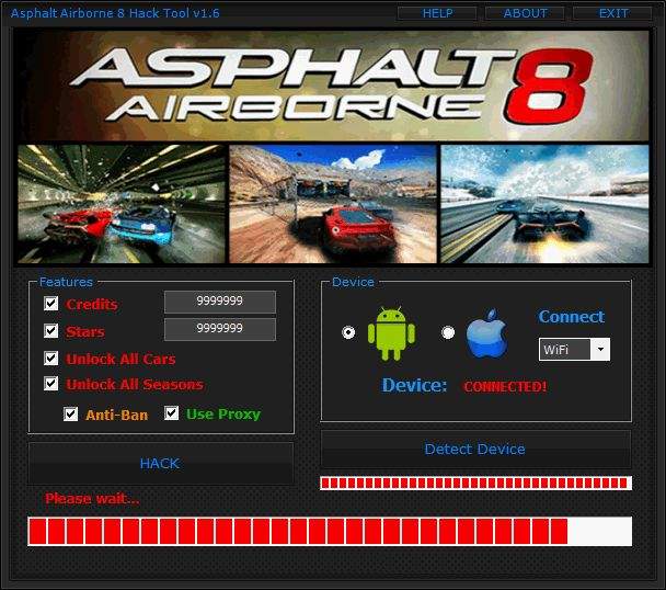 DOWNLOAD Link: http://crazyhotgameparad1se.blogspot.com/2015/10/asphalt-8-airborne-cheat-tool.html  The Asphalt 8 Airborne Cheat Tool makes it possible that you can basically receive an UNLIMITED MONEY and UNLOCK ALL CARS and many Features with just two clicks. Just Click and Download For Free Asphalt 8 Airborne Cheat Tool.  Extra Tags: Asphalt 8 Airborne cheat free download, Asphalt 8 Airborne cheat download, Asphalt 8 Airborne free cheat, working asphalt 8 Airborne cheats tool