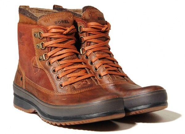 Leather Walking Boots Men | Fashion Belief