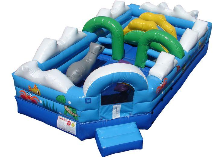 toddler sea adventure moonwalks inflatable water slides