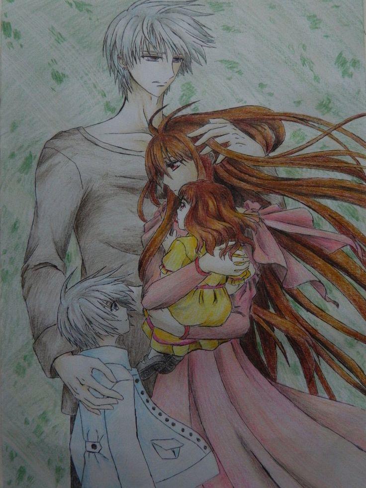 Vampire Knight - Zero, Yuuki and their children ...