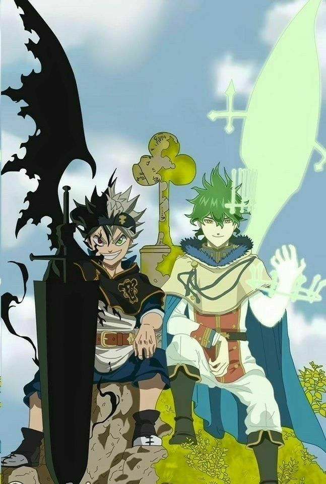 Black Clover Black Clover Anime Black Clover Wallpaper Black