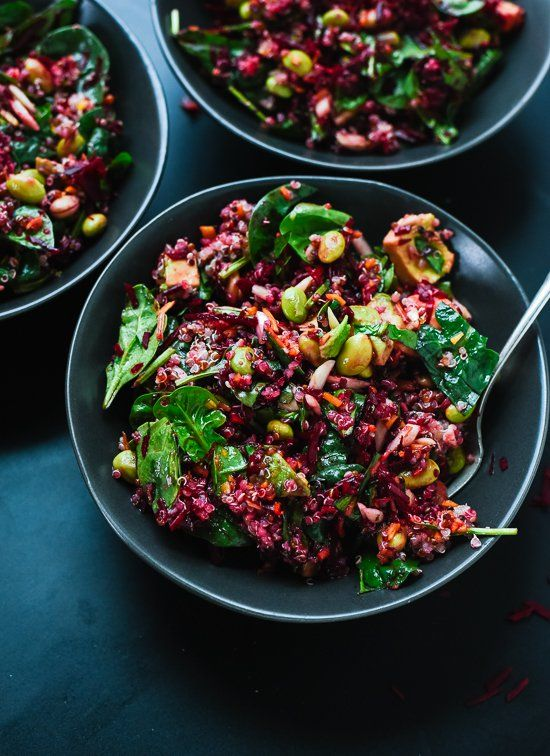 Reset with this raw beet salad! - cookieandkate.com I used roasted beets, delish