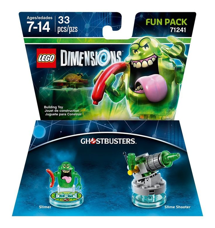 Amazon.com: Ghostbusers Slimer Fun Pack - LEGO Dimensions: Video Games