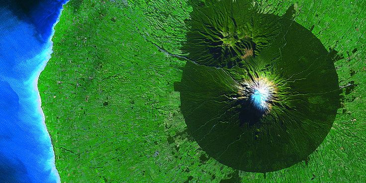 The Anthropocene, as seen from outer space.
