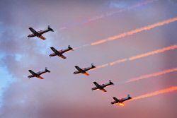 Roulettes in Kalgoorlie. Royal Australian Air Force RAAF planes. KGM-0001233 © WestPix