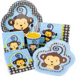 Monkey birthday decorations for birthday. If your like me and call your child a monkey. These are Perfect :)