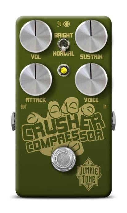 Crusher compressor pedal for junkie tone Monterrey...