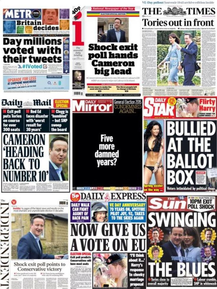 Independent research proves that the BBC and newspaper election coverage was biased in favour of the Conservative party | I Am Incorrigible