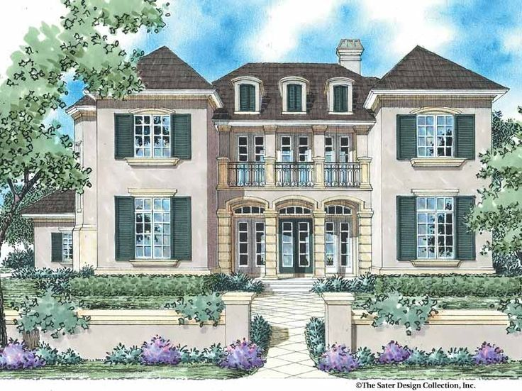 eplans french country house plan the french manor 3578 square feet and 5 bedrooms - Plans For Houses