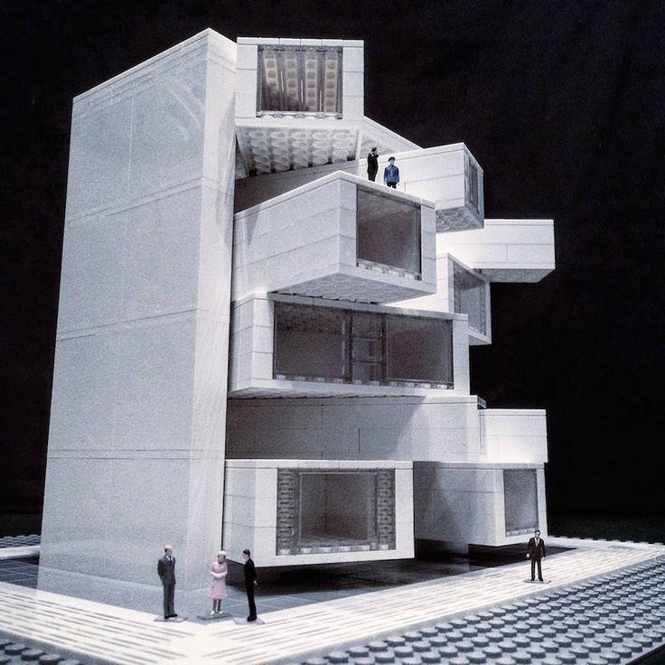 LEGO Brutalist Buildings Sculptures – Fubiz Media                                                                                                                                                                                 More