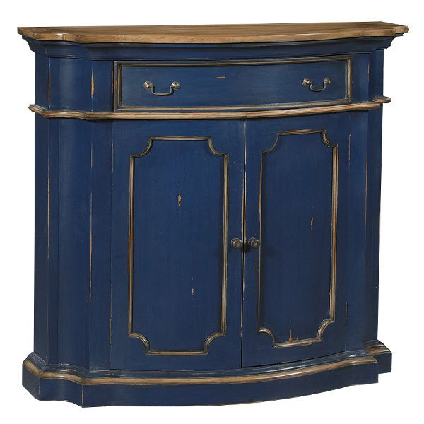 What Do You Think About Navy Blue U0026 Antique Oak Side Board? Could You  Picture