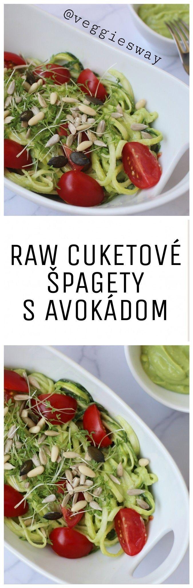RAW cuketové špagety