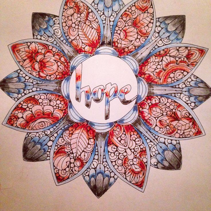 HOPE Mandala #ColorLife