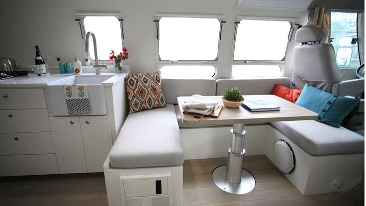 49 Best Airstream Dinette Front Bed Images On Pinterest
