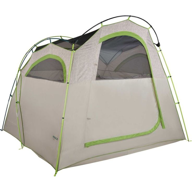 Kelty Camp Cabin 4 Person Tent, Geo-Heather