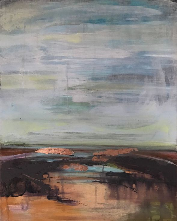 Buy Salt Marsh, Mixed Media painting by Amanda Lakin on Artfinder. Discover thousands of other original paintings, prints, sculptures and photography from independent artists.