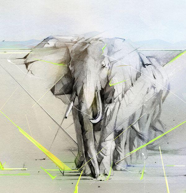 Hewlett Packard by Alexis Marcou, via Behance