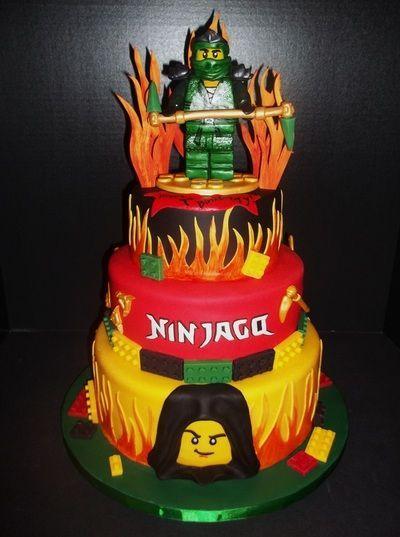 Lego Ninjago Cake Homemade Sweetness: