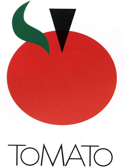 tomato records logo, 1978 • milton glaser: