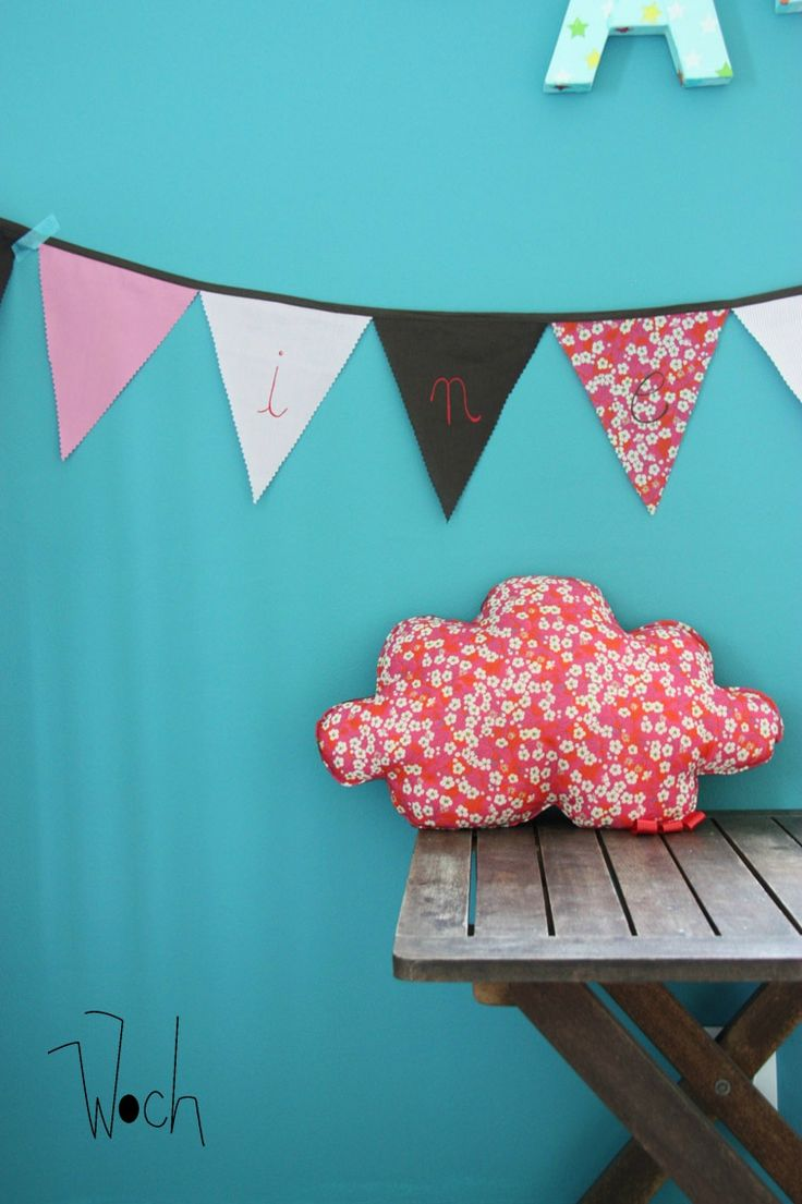 17 best ideas about guirlande fanion tissu on pinterest. Black Bedroom Furniture Sets. Home Design Ideas