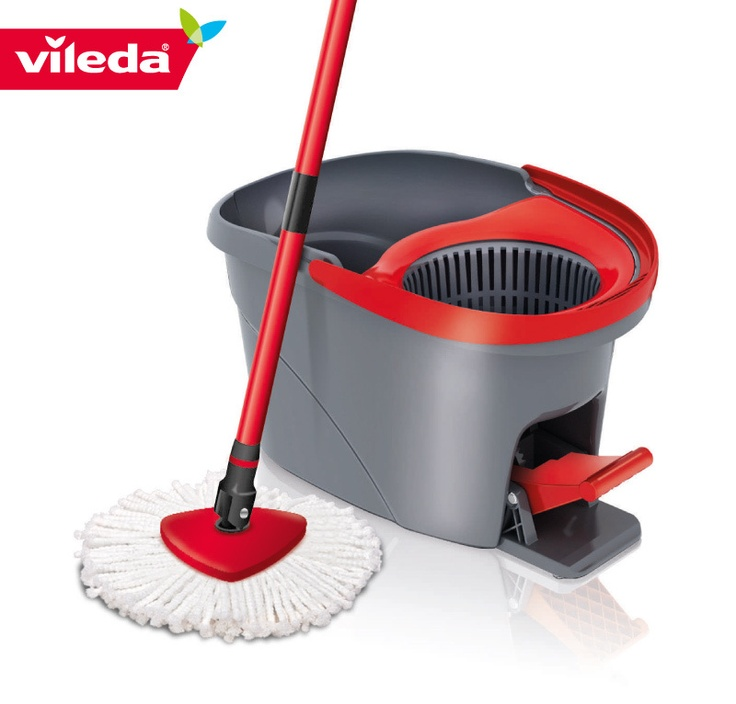 The Vileda Easy Wring And Clean Spin Mop Is The Most