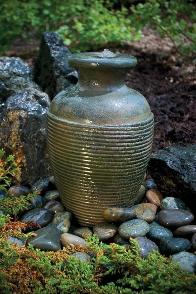 Aquascape Fountain Amphora Vase From Aquascape Loch Ness Water Gardens Diybackyardlandscapingdesign Fountains Outdoor Garden Water Fountains Diy Fountain