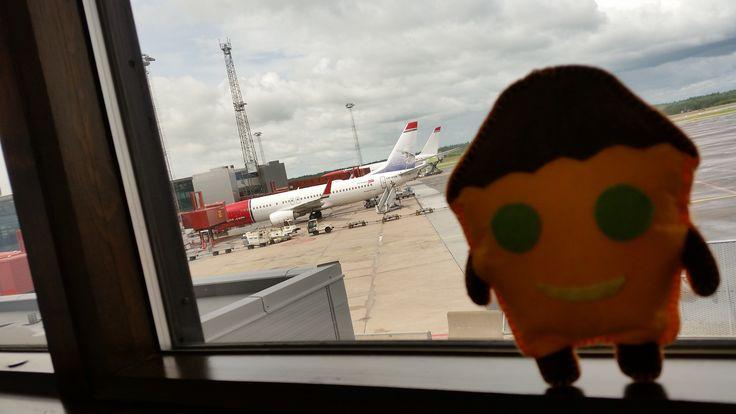Tosiek na lotnisku