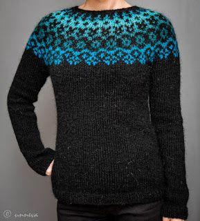 Knitwear by unneva: Lopi sweater