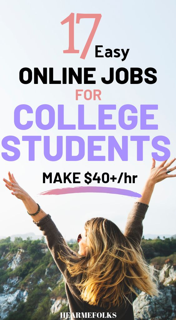 17 Best Online Jobs for College Students To Make Money Today – Hear Me Folks || Work from Home Jobs + Passive Income Side Hustle Ideas | Blogging +YouTube Tips