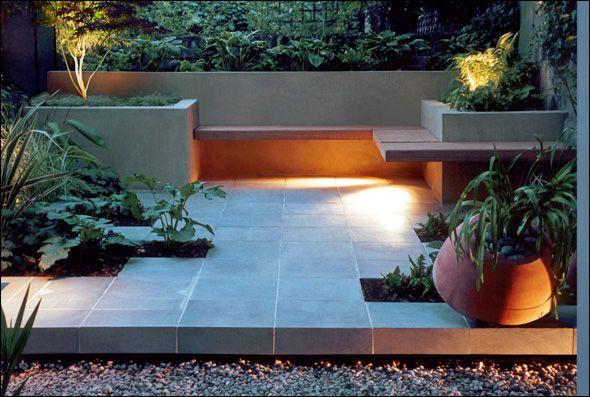 contemporary outdoor space