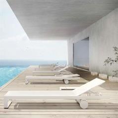 Udendørs liggestol i nyt design
