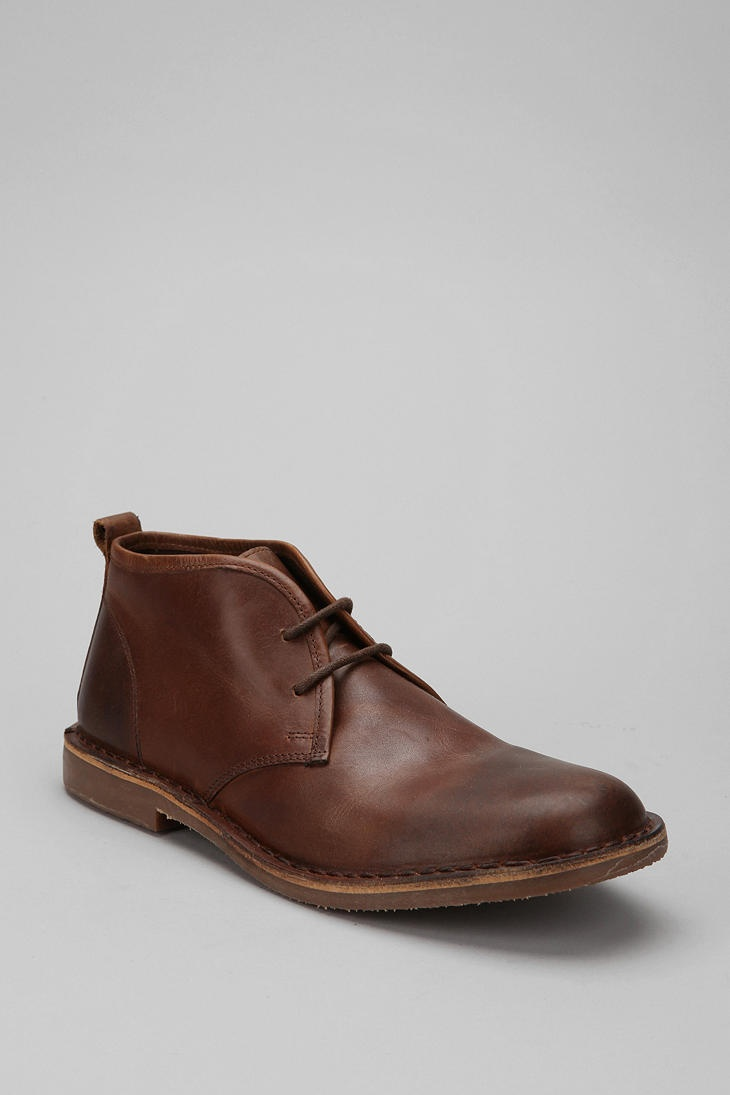 Becoming a fan of Hawkings McGill shoes. I recommend their Desert Boot. Super comfy! Hawkings McGill, $78.