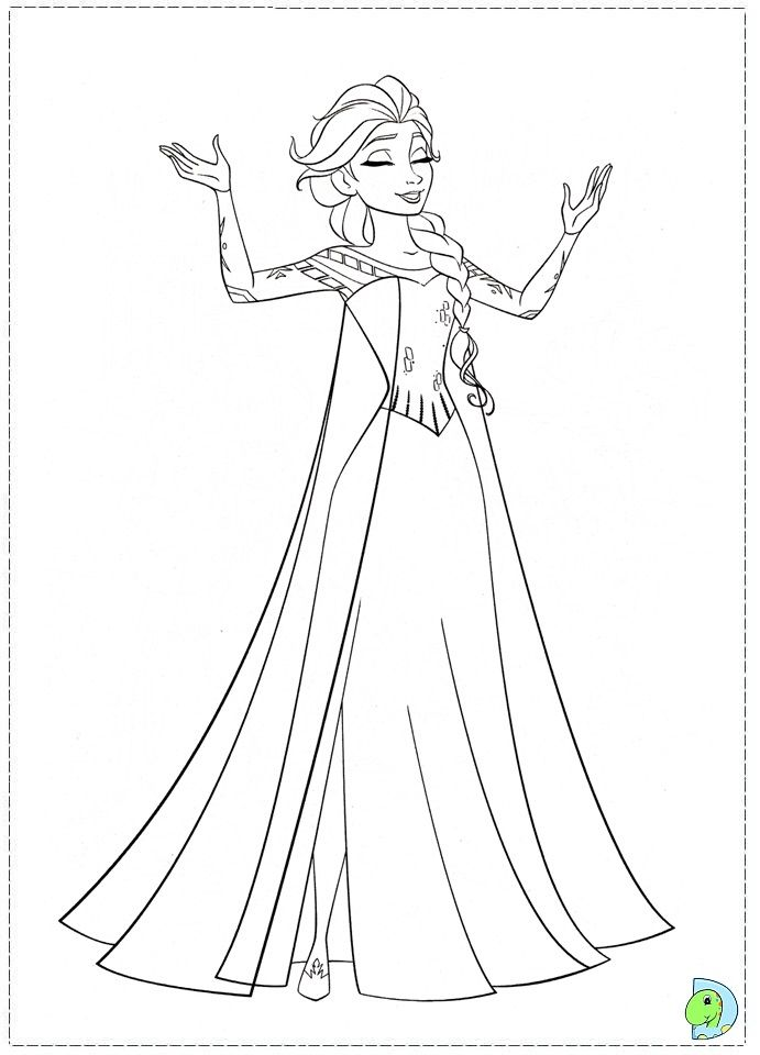Frozen Coloring Pages To Print | Free coloring pages