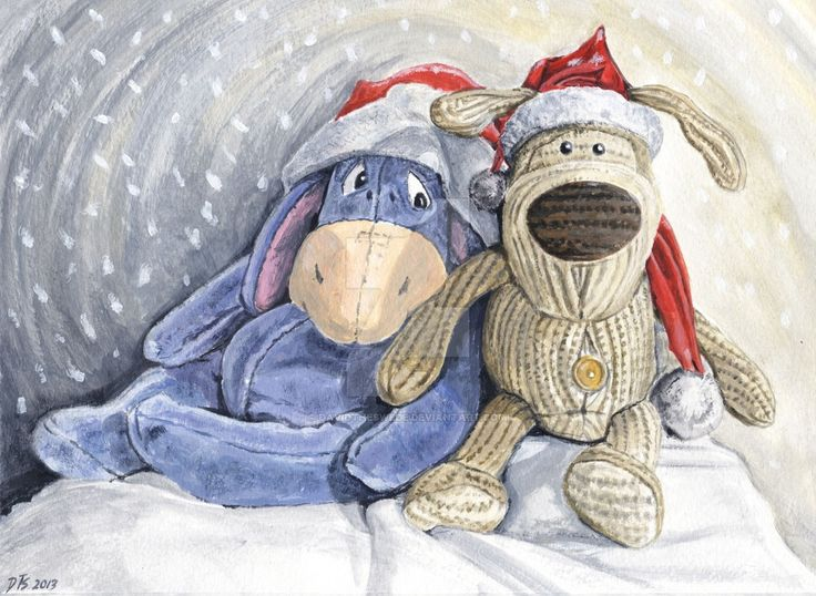 christmas_with_eeyore_and_boofle_by_davidtheswede-d6wgw7n.jpg (1024×749)