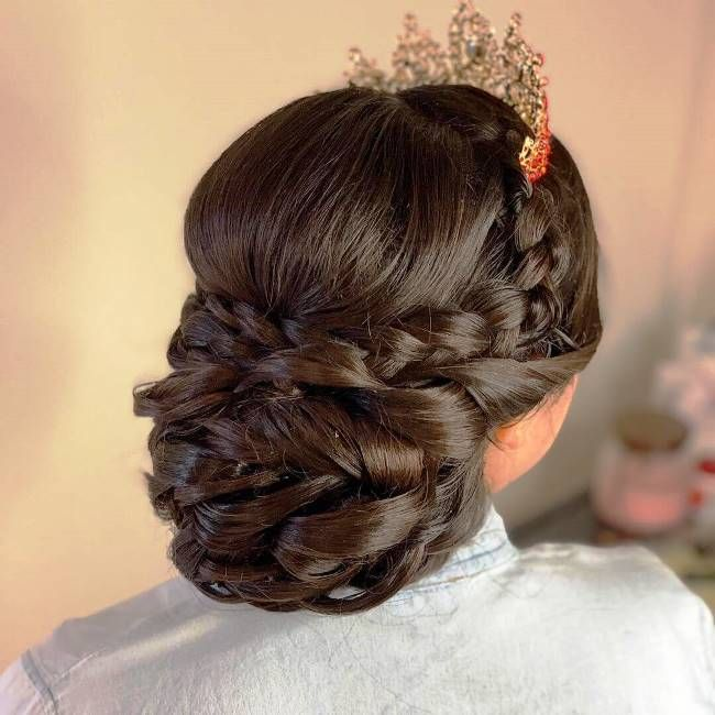 Pin On Quinceanera Hairstyles