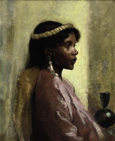 Andreae Tobias - Nubian Beauty  ~Repinned Via Nicholas Hunt-Walker