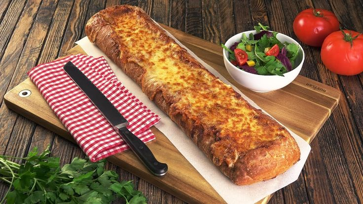 Lasagne mal anders - Rezept für Lasagne im Brot! Ein buchstäbliches Aben...