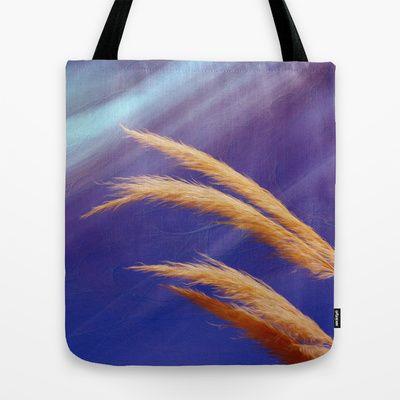 Fox tails Tote Bag by Oscar Tello Muñoz - $22.00