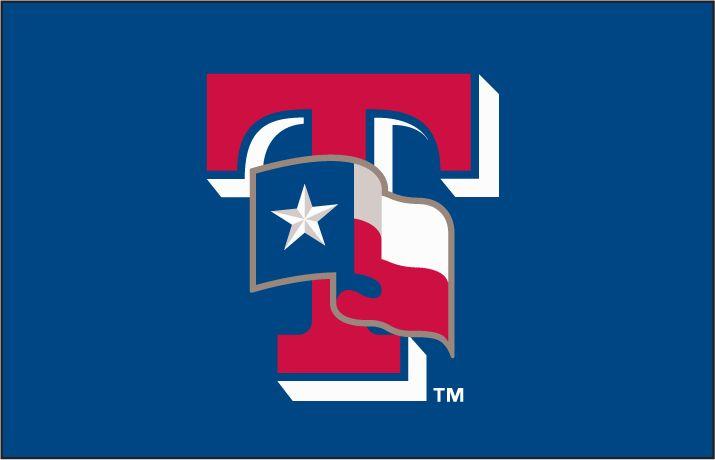 Rangers baseball logo t
