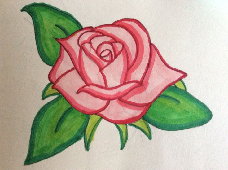 A rose again by moose also featuring Copics.