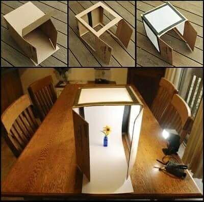Box photo studio ligth