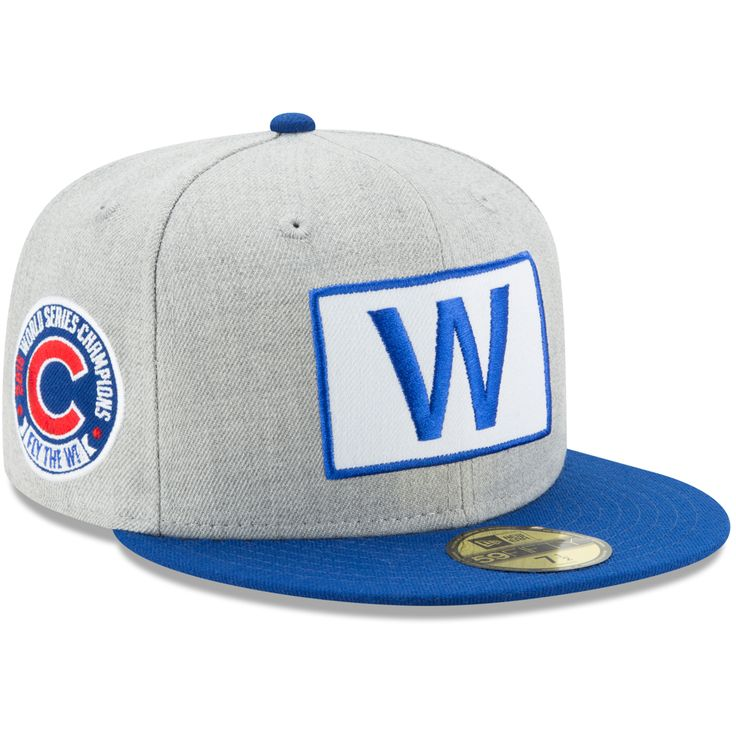 Chicago Cubs 2016 World Series Champions 59FIFTY 'W Flag' Fitted Hat  #ChicagoCubs #Cubs #FlyTheW #MLB #ThatsCub #CapsOn
