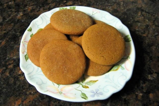 Molasses cookies made with butter and shortening, flour, spices, and sour cream. Old-Fashioned Soft Molasses Cookies.