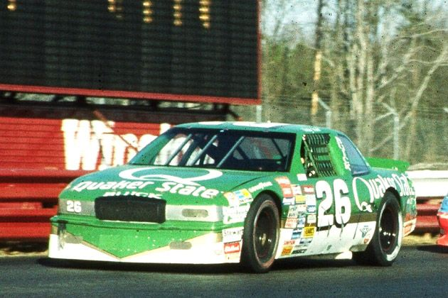 Ricky Rudd in Kenny Bernstein''s Racing Car Quaker State Buick Regal.