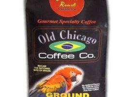 Old Chicago Coffee Brazilian Ground Light Roast Coffee 10oz