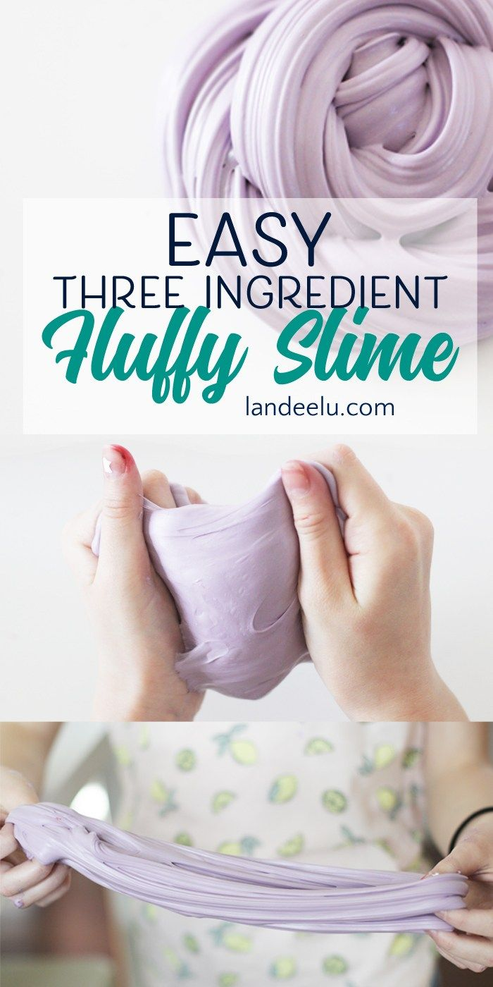 Summer Craft Ideas For Kids: Keep 'em Busy Fluffy Slime