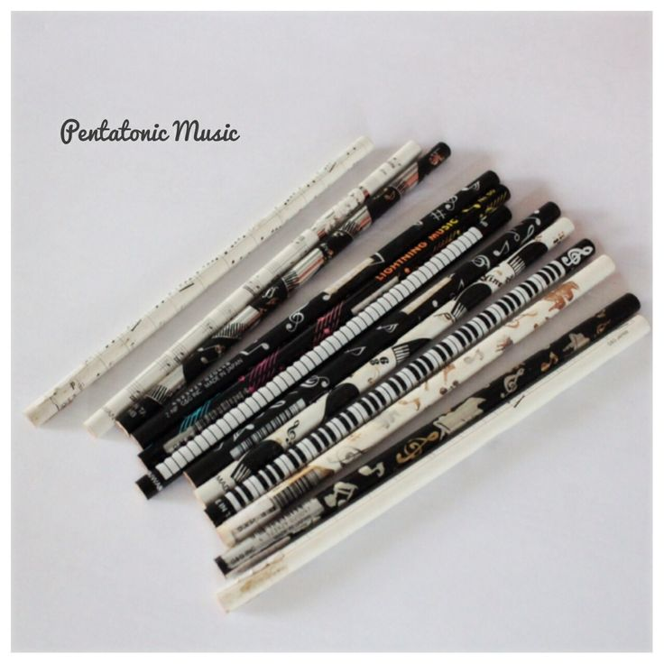 Music Pencils Follow Instagram : pentatonicmusic