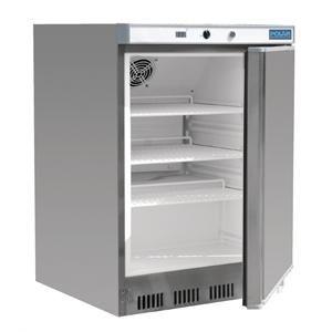 Refrigerador bajo mostrador acero inoxidable 150L. Polar