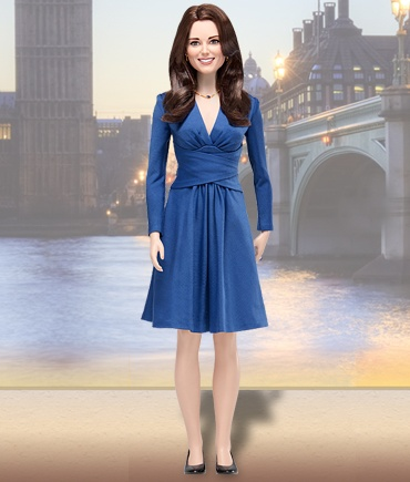 Kate Middleton doll.... this sure is not Barbie..  but Kate can be here too
